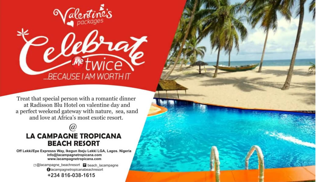 La Campagne Tropicana Resort- Experience African Luxury